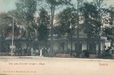 POSTCARD  SOUTH  AFRICA   PRETORIA   The   Late  President  Kruger's  House