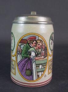 Jugendstil-Bierkrug-signiert-Franz-Ringer