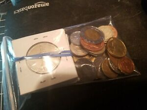 World-Foreign-Coin-Lots-30-Coin-Grab-Bags-PLUS-10-coins-in-card-flips