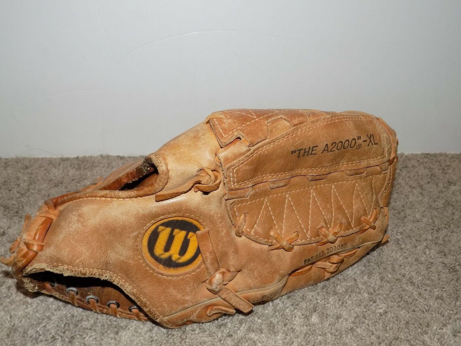 Wilson el A2000 XL Guante de béisbol doble bisagra Tiro Mano derecha Japón