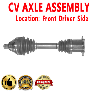 FRONT LEFT CV Axle For JETTA Automatic Dual Clutc Transmission L4 1.9L 1896cc