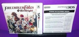 Fire-Emblem-Fates-Birthright-Nintendo-3DS-Case-Only-NO-GAME-INCLUDED-B595