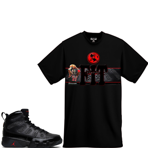 separation shoes 622ee 963da Image is loading WeWillFit-shirt-for-Air-Jordan-9-Bred-PE-