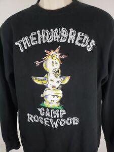 The-Hundreds-Crewneck-Sweater-Camp-Rosewood-Size-Small-2332