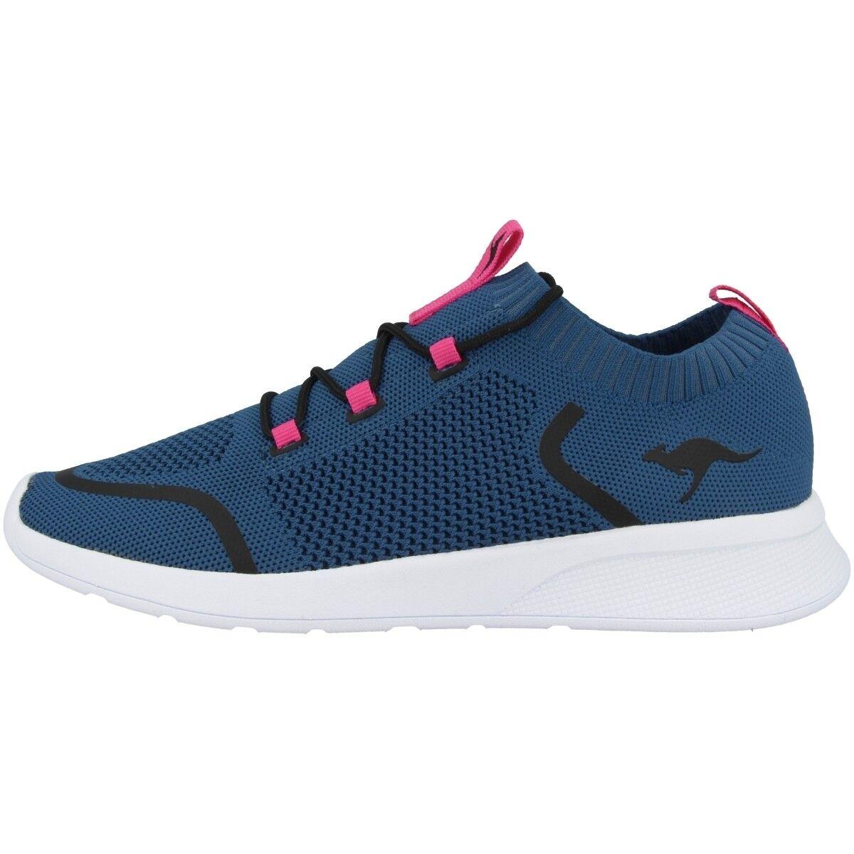 Kangaroos Kf Weave shoes Women's Casual Trainers Iced bluee 18317-4219