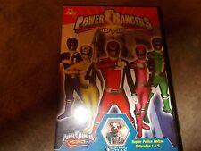 Power Rangers En DVD S.P.D. Episodes 1 a 5 (en Francaise)