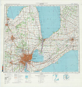 Details about Russian Soviet Military Topographic Maps - DETROIT (USA), on detroit on world map, michigan usa, detroit suburbs map, baltimore map usa, minneapolis map usa, milwaukee map usa, detroit state map, city street maps usa, detroit city map, pittsburgh map usa, detroit area, detroit on us map,