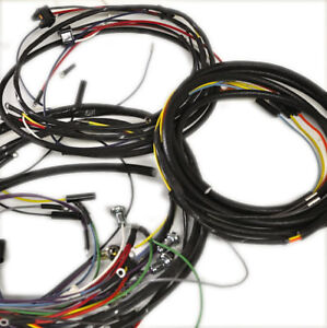 wiring harness jeepster commando 1966 71 v6 manual transmission ebay rh ebay com 1967 jeepster commando wiring harness