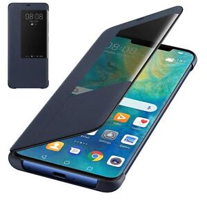 online store 2540f 184db Details about GENUINE HUAWEI MATE 20 PRO SMART VIEW FLIP CASE COVER WALLET  SLEEP WAKE - BLUE