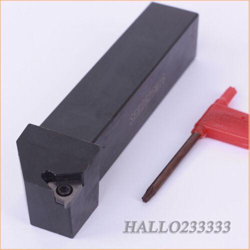 SER2525M16 Lathe Threading Turning Tool Holder for 16ER AG60 Insert CNC