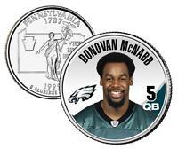 Donovan Mcnabb Nfl Pennsylvania U.s State Quarter