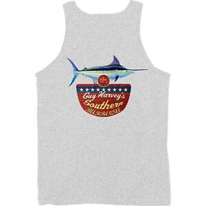 8f0542820c7b0 Guy Harvey Southern BBQ Fishing Boat Beach Tank Top. Pick Size..Fast ...