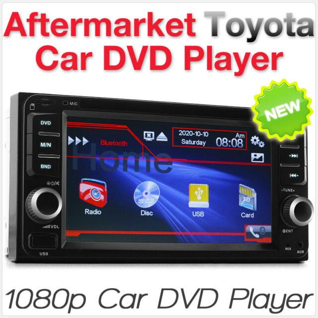 CD DVD Radio MP3 Player For Toyota Corolla Camry Kluger Hiace RAV4 Yaris Echo CD