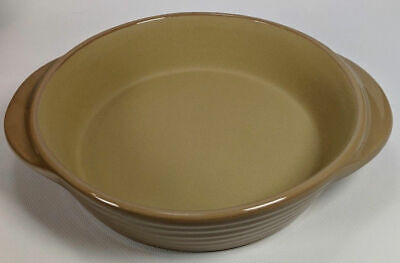 Pampered Chef Mini Baker Taupe 1361 Stoneware Baking Dish