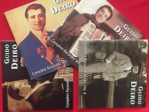 Complete-Recorded-Works-of-Guido-Deiro-Vols-1-4-Vaudeville-Accordion-Music