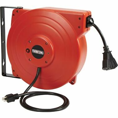 Ironton 65-Foot Retractable Cord Reel + $20 GC