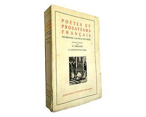POETES-et-PROSATEURS-FRANCAIS-zanichelli-1935