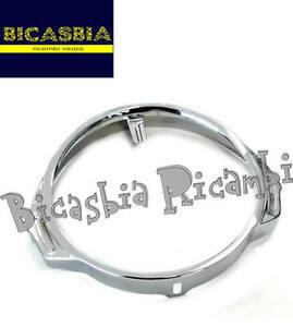 0173 Écrou Phare Avant Chrome Vespa 125 Px 150 200 - Bicasbia Top PastèQues