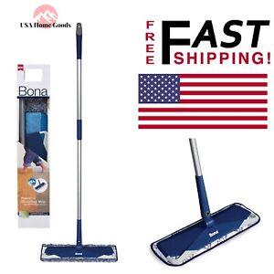 Details about BONA Premium Microfiber Hard Surface Mop Duster Washable Pad  Dirt Cleaner Mop