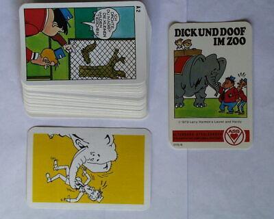 100% Vero Asa Quartetto Spessa E Sembreraí Allo Zoo 3115/6 // 32 Carte + Copertina-mostra Il Titolo Originale
