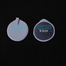 1 Pair Rubber Reusable Replacement Microcurrent Machine accessory Electrode Pad