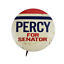 Vtg-Charles-Percy-For-Senator-Political-Campaign-Lithograph-Pinback-Pin-Button thumbnail 1