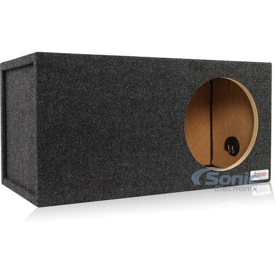 "Atrend 12LSV Single 12"" Subwoofer Pro Vented Ported SPL Sub Woofer Enclosure Box"