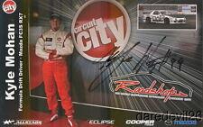 2008 Kyle Mohan signed Circuit City Mazda RX-7 Formula Drift postcard
