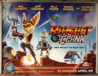 Cinema Poster: RATCHET & CLANK 2016 (Quad) Sylvester Stallone Rosario Dawson