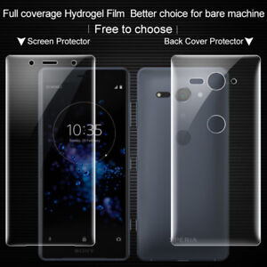 the best attitude 83727 b74fb Details about For Sony Xperia XZ2 Compact, IMAK Full Coverage Back Cover  Screen Protector Film
