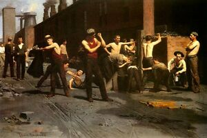 THE-IRONWORKERS-NOONTIME-INDUSTRY-AMERICA-1880-PAINTING-BY-THOMAS-ANSHUTZ-REPRO
