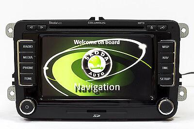 Skoda Columbus SSD LED V16 Maps OCTAVIA 2019 RNS 510 GPS Navigation Navi  Radio | eBay