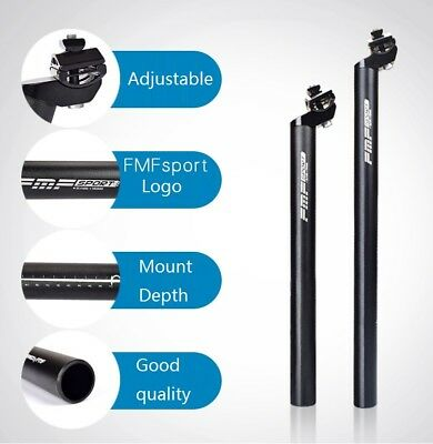 FMF MTB Road Mountain Bike Bicycle Seatpost 350//450mm 25.4//27.2//30.4//30.8//31.6
