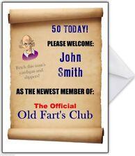 Funny Old Farts Birthday Card