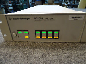 HP-Agilent-Keysight-N3280A-Component-Test-DC-Source-4-Bipolar-Outputs-5W