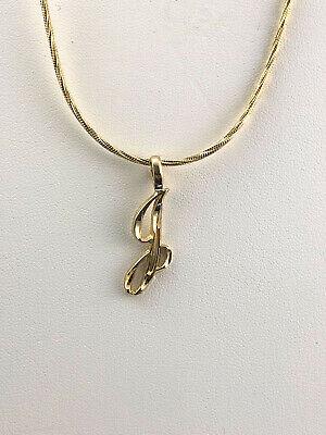 C Letter Necklace Gold Cursive C Initial Necklace Cursive C Initial Necklace Gold C Letter Necklace 24K Gold Plated C Letter Necklace