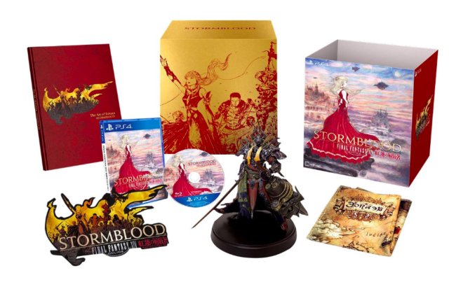 Final Fantasy XIV Stormblood Collector's Edition Ps4 Japan Game At0318