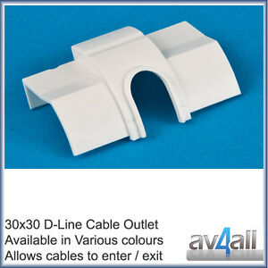 Sensational D Line 30X30 Quadrant Cable Outlet To Hide Tv Wires Along Skirting Wiring Digital Resources Aeocykbiperorg