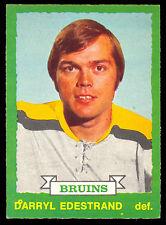 1973-74 OPC O PEE CHEE #216 DARRYL EDESTRAND NM BOSTON BRUINS HOCKEY CARD