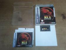 MORTAL KOMBAT ADVANCE jeu Game Boy Advance  PAL EUU