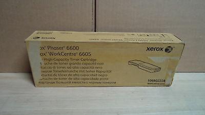 NEW Genuine Xerox 106R02228 High Capacity Black Toner Cartridge Phaser 6600 OEM