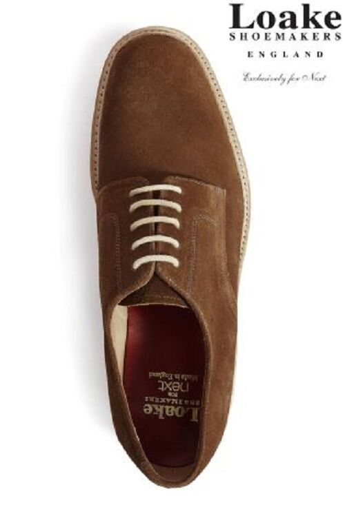 Loake Tan Derby Suede Schuhes Größe 10 usually usually usually c598d4