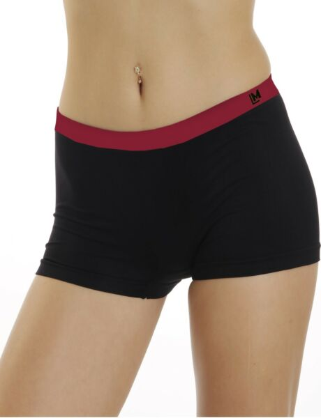 LisaModa Damen Seamless Pants 4er Pack Slip Unterhose Panty Hipster