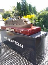 ++MSC MERAVIGLIA++ Kreuzfahrtschiff, massives Schiffsmodell schwer, NEU MSC Club