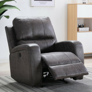 ELECTRIC-POWER-RECLINER-CHAIR-SUEDE-ERGONOMIC-THICK-PADDED-SOFA-WITH-USB-PORT