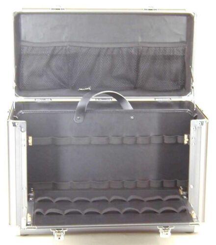 69061 Aluminium Außendienst Piloten Werkzeug Elektriker Ärzte Arzt Koffer leer
