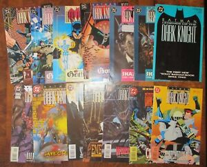 Batman-Legends-of-the-Dark-Knight-1989-DC-Run-Lot-Gothic-Prey-1-3-6-8-10-Annual
