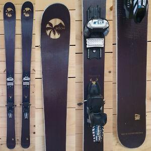 Ski-test-Rip-039-n-Wud-Freeride-Carve-Ltd-Ed-Sotchi-167cm-Marker-Griffon-13-Demo