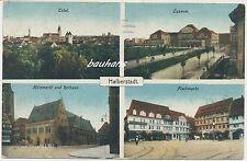 AK Halberstadt Total-Fischmarkt-Holzmarkt   (b443)