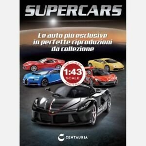 SUPERCARS-DIE-CAST-1-43-BOOKLET-CENTAURIA-VARIOUS-SELECT